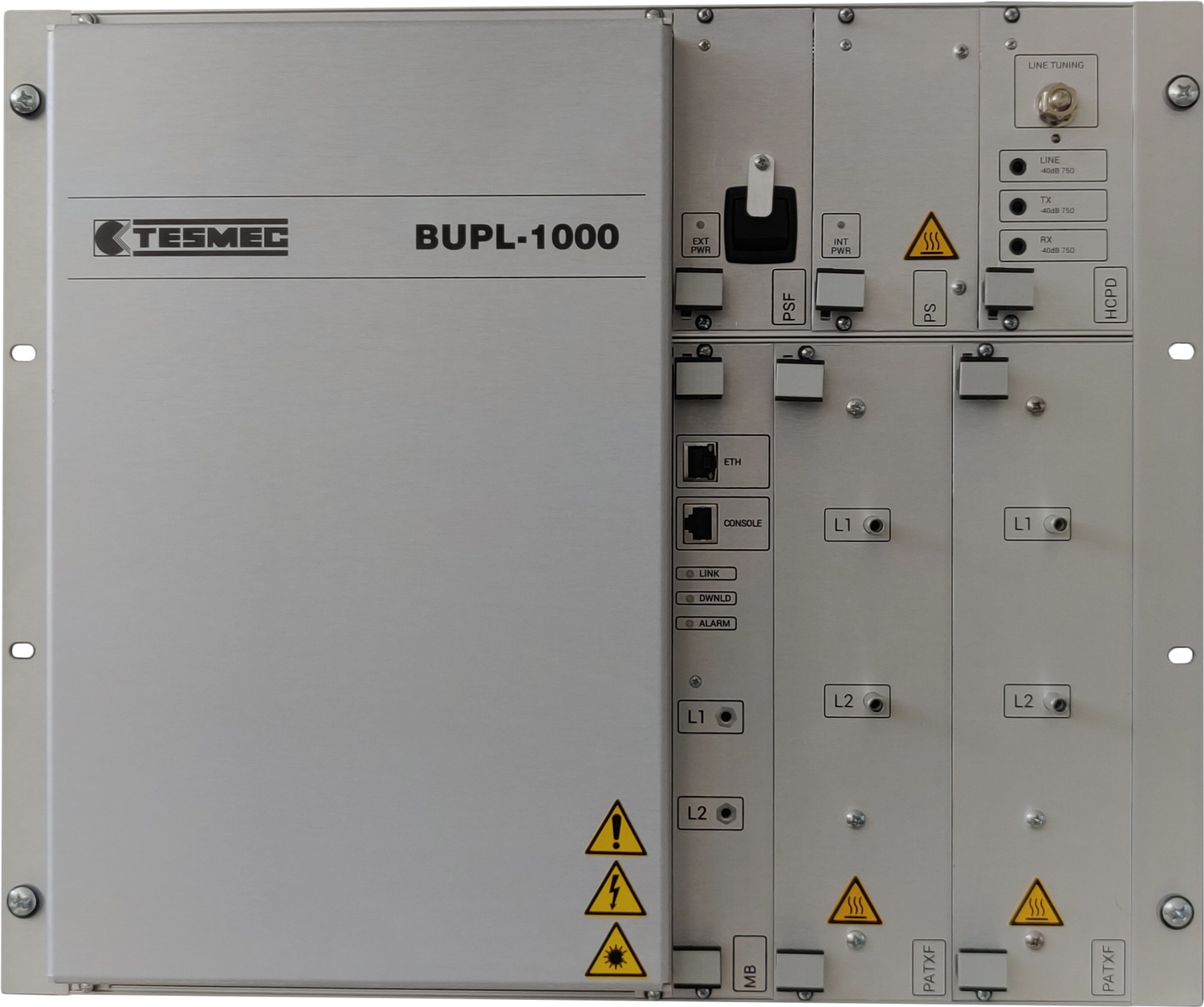 Tesmec BUPL1000 Powerline carrier for High Voltage Grids