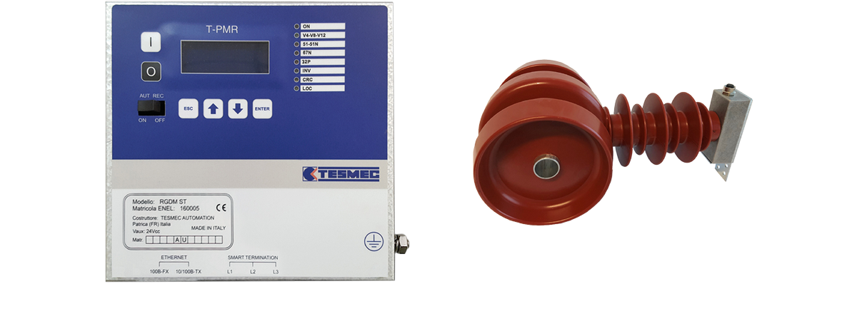 Tesmec T-PMR Protection and Measurement Relay