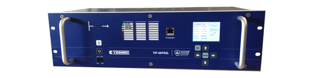 Tesmec TP-MFRG Multifunction Protection Relay for primary stations