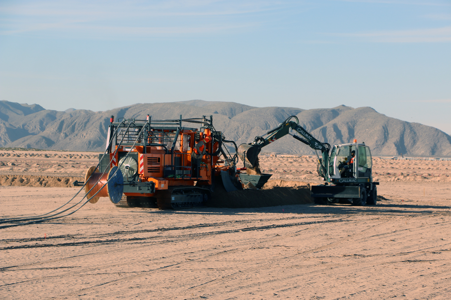 Tesmec Marais ST2 Wheel Trencher for Mechanical Cable Laying