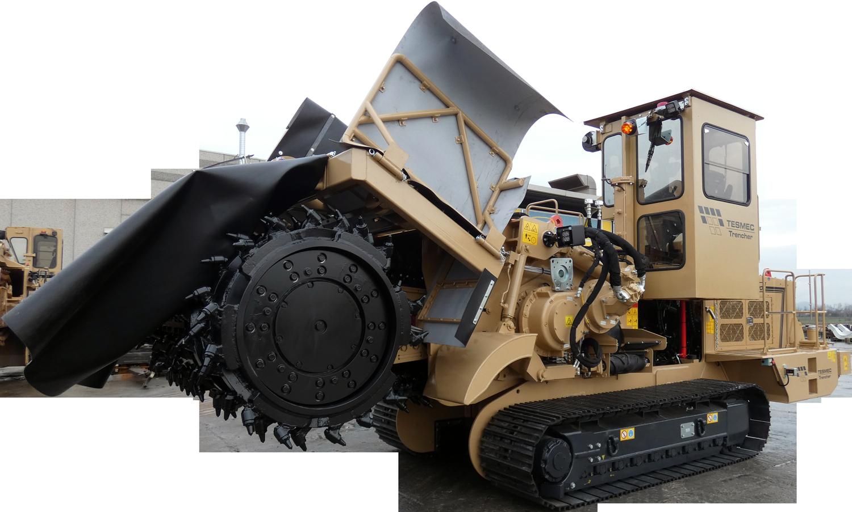 Tesmec 975 EVO Surface Miner