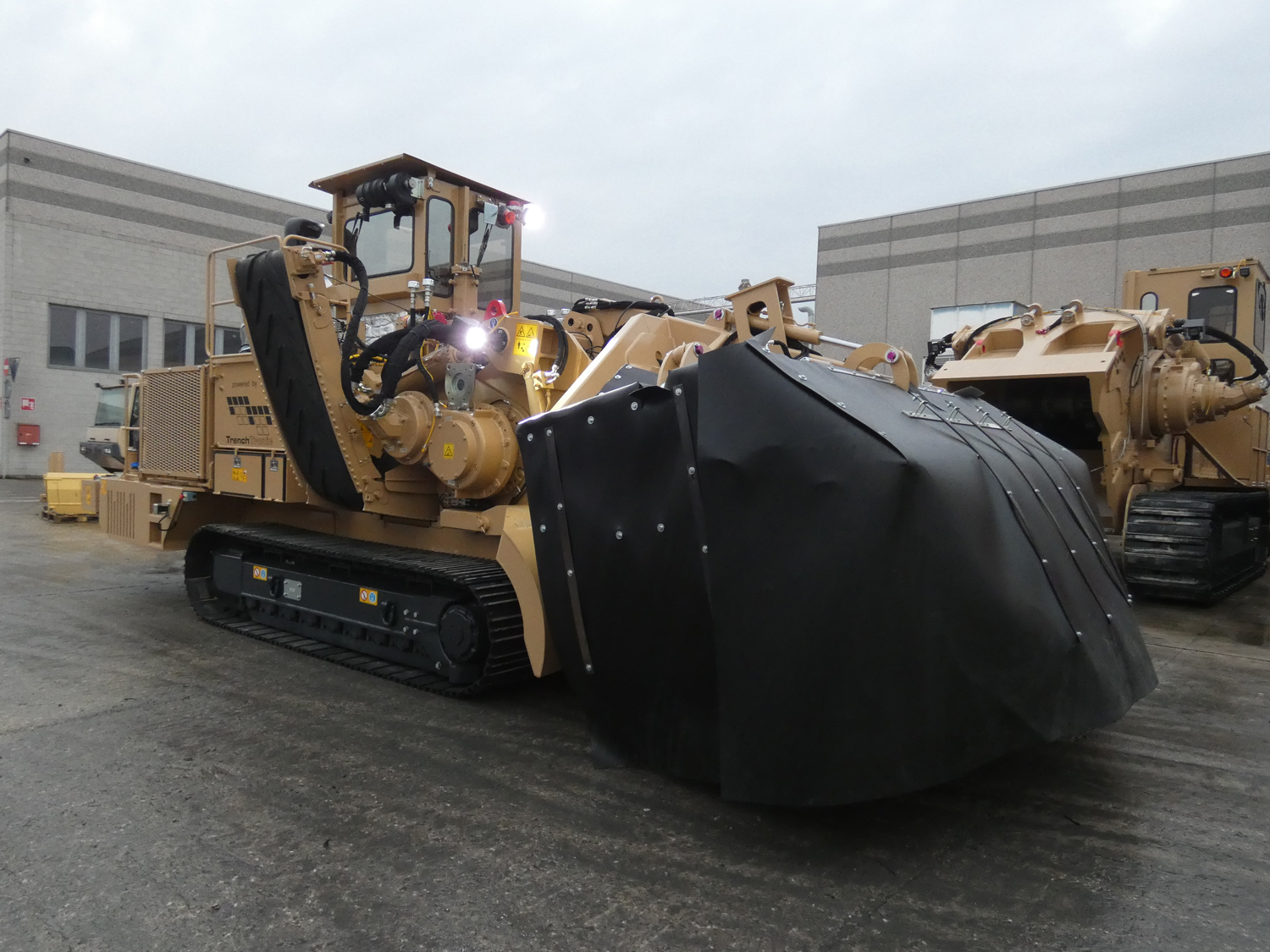 Tesmec 975 EVO Surface Miner for tunnel applications and civil roads works
