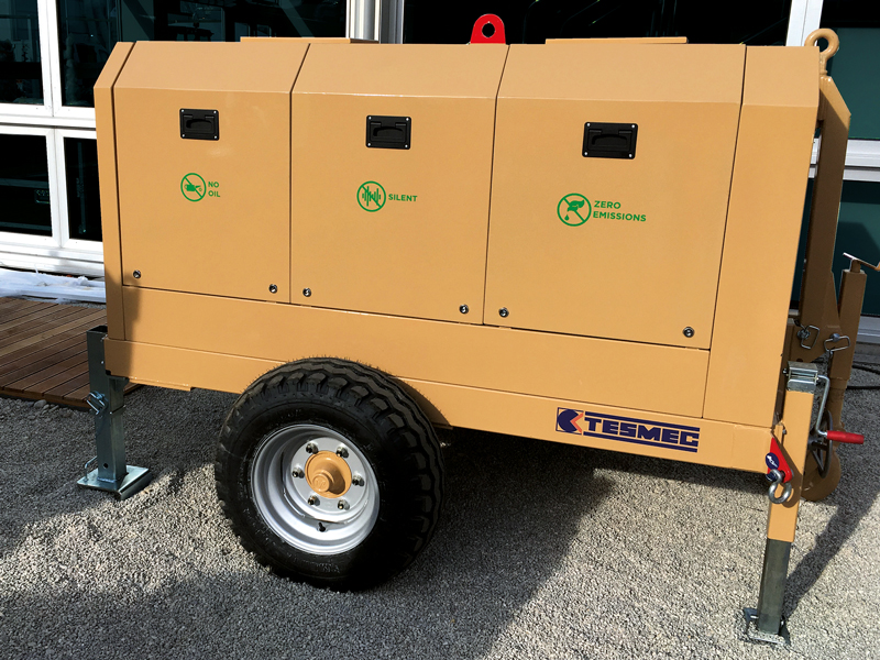 Tesmec offers a complete range of machines to face any underground application