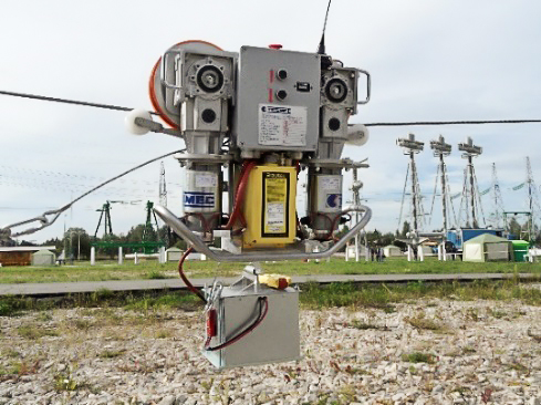 Tesmec Stringin Safety on Crossings and OPGW Installation