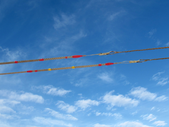 Tesmec vast range of reels, ropes and joints.