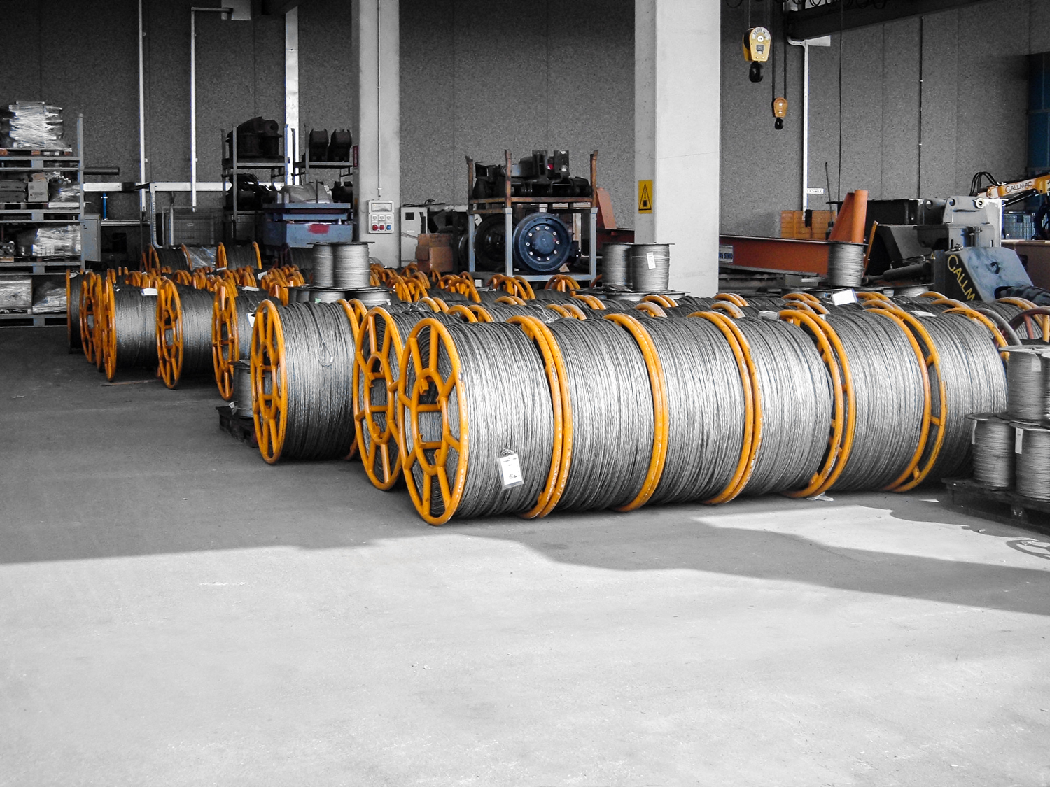 Tesmec Ropes with Factor 3 of Safety