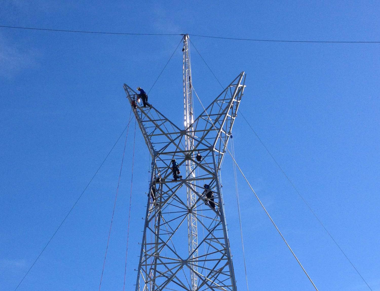 Tesmec Stringing Powerline Tower Construction