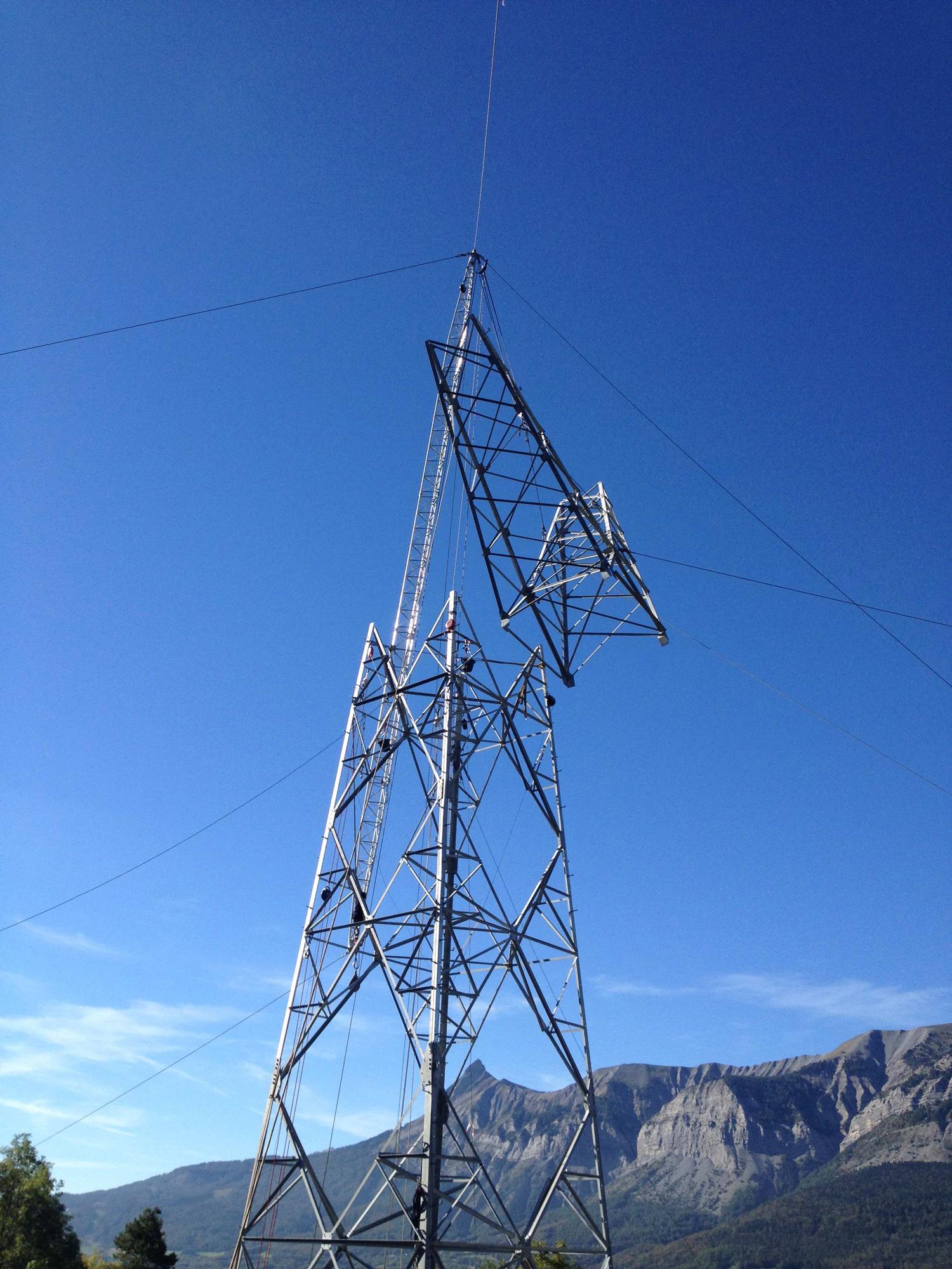 Tesmec Stringing Tower Construction