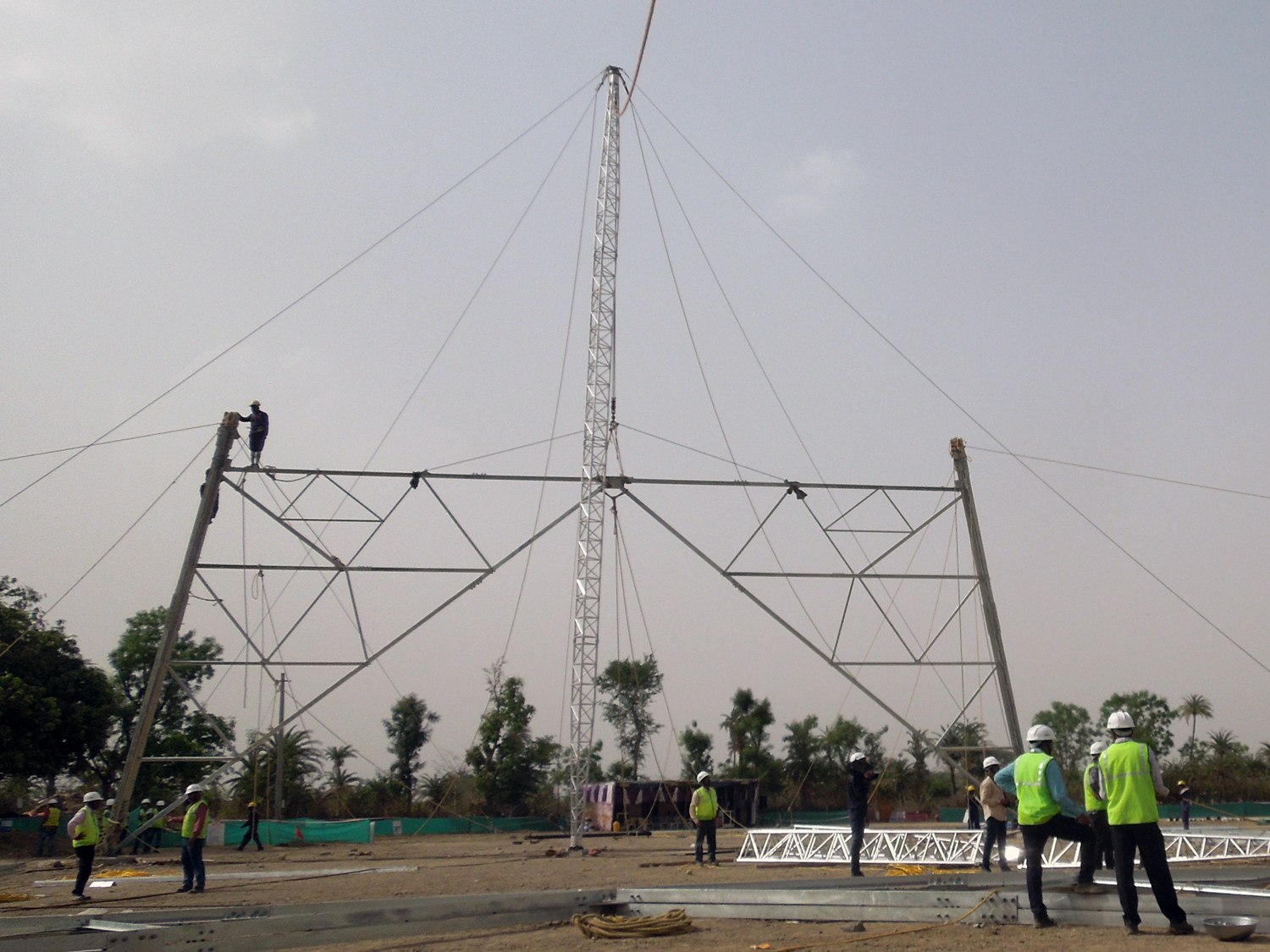 Tesmec Tower Erection Solutions