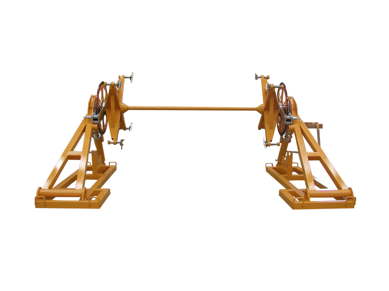 Drum Elevators and Trailers for Underground Stringing by Tesmec