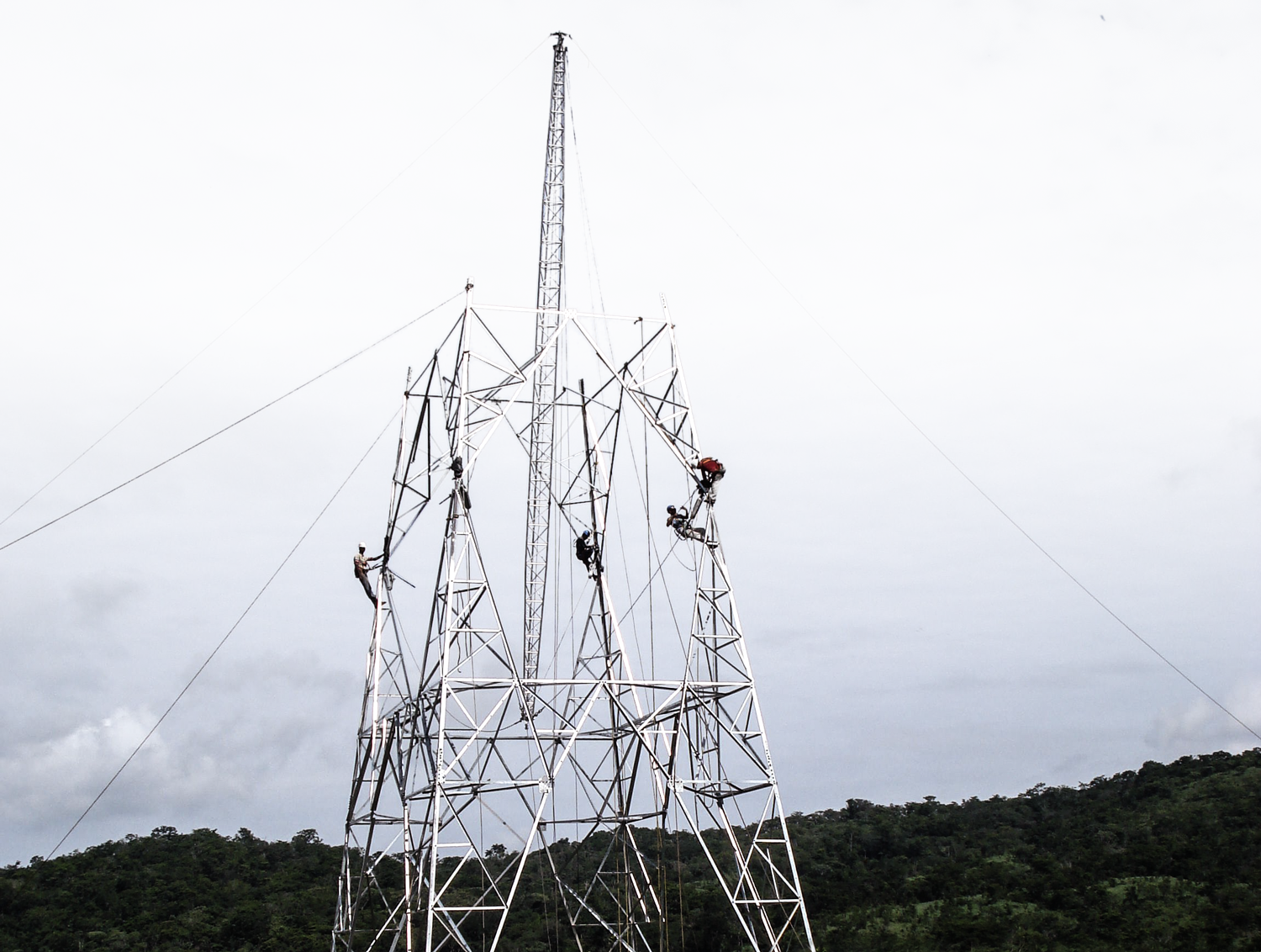 Tesmec Stringing Powerlines Construction