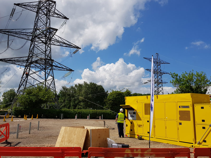 Tesmec CLP reduces costs and time for reconductoring operations