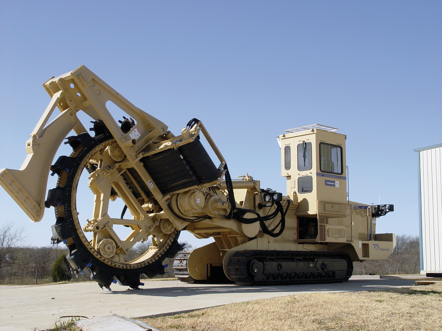 Tesmec 1075 Bucket Wheel Trencher for pipelines