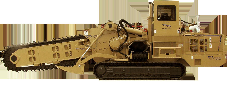 Tesmec 1150 EVO Chainsaw Trencher