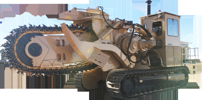 Tesmec 1475XL EVO Chainsaw Trencher