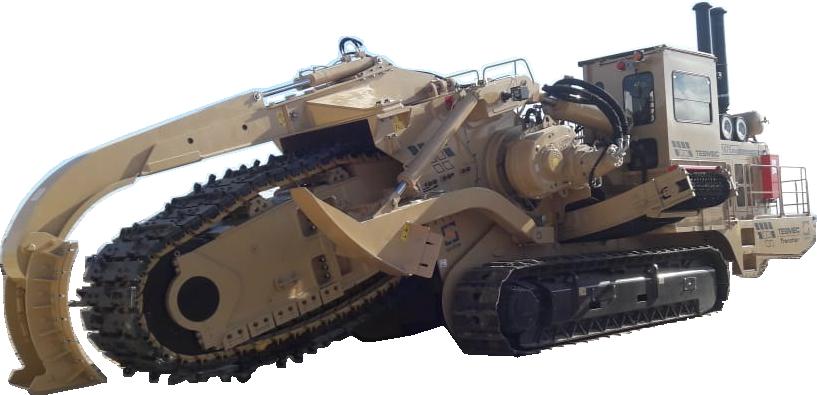 Tesmec 1675 EVO Chainsaw Trencher