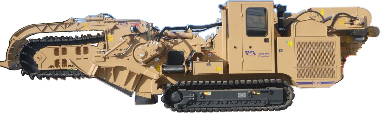 Tesmec 985 Chainsaw Trencher