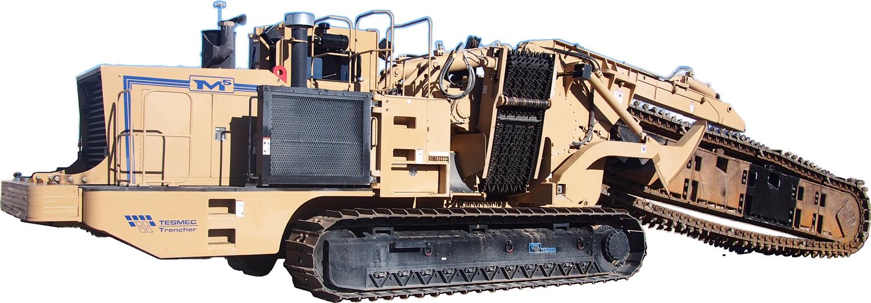 Tesmec M5 Chainsaw Trencher