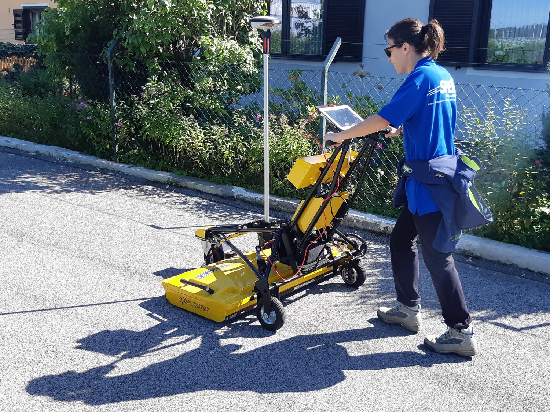 Tesmec Georadar Explorer 2.0 guarantees the safety of the trenching work
