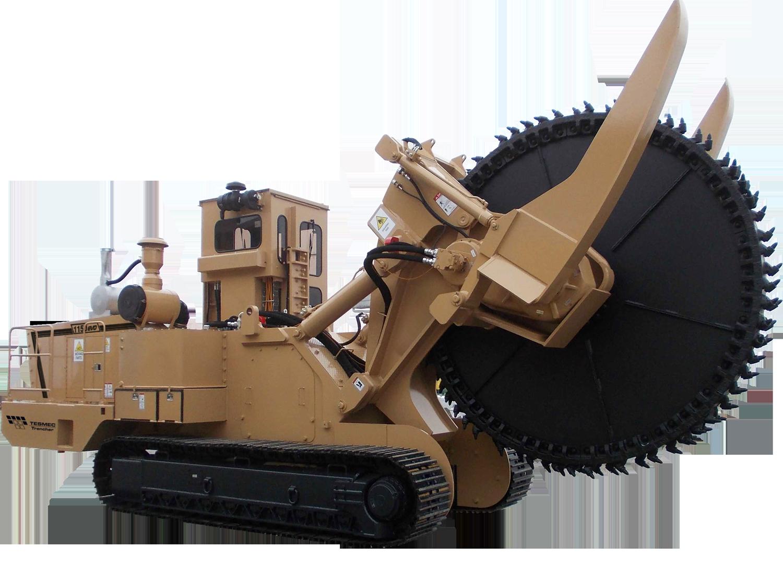 Tesmec 1150 EVO Rocksaw Trencher