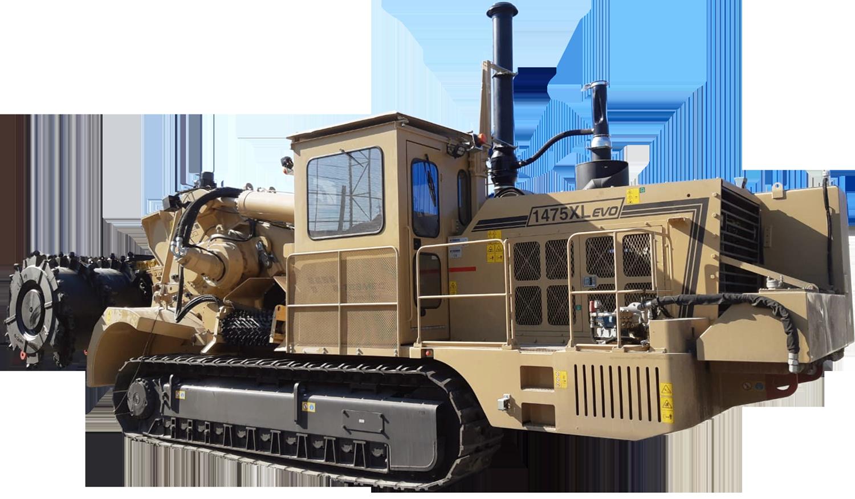 Tesmec 1475XL EVO Surface Miner