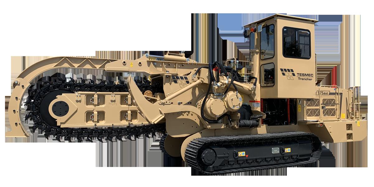 Tesmec 975 EVO Chainsaw Trencher