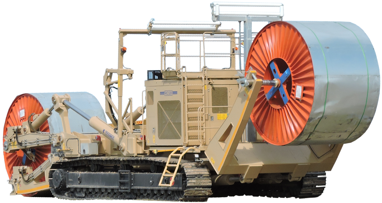 Tesmec RC320 Reel Carrier