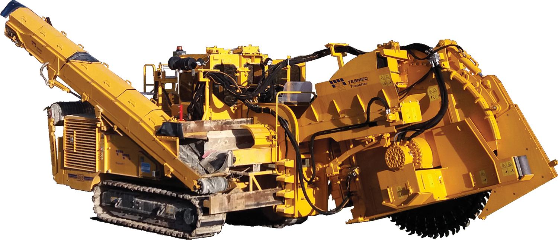 Tesmec 950R T1000 Rocksaw Trencher