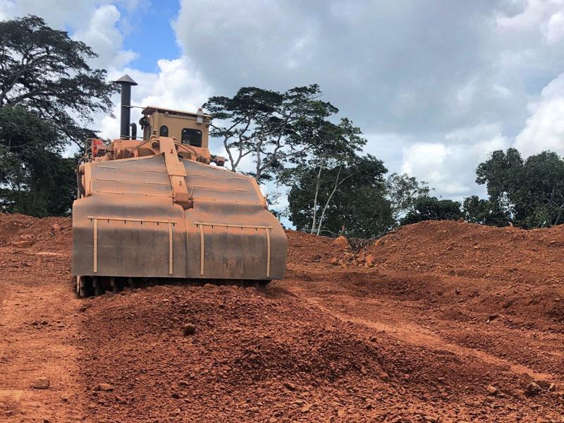 Tesmec 1475XL EVO Surface Miner for hard rock excavation