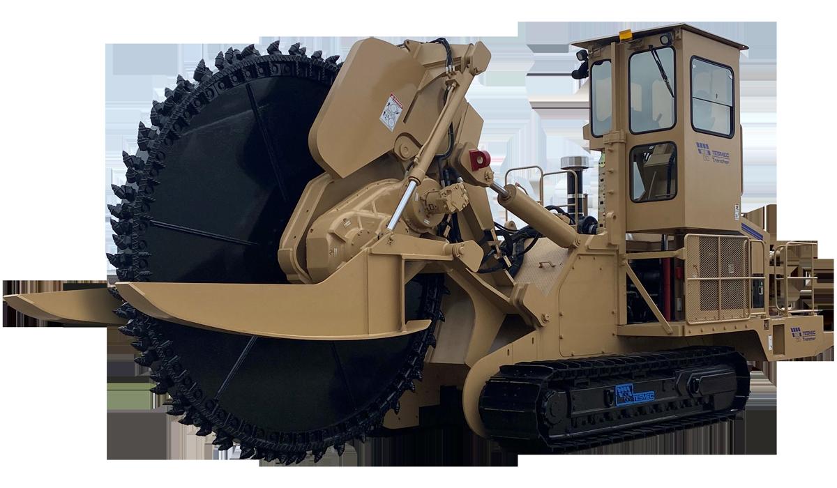 Tesmec 1075 Rocksaw Trencher