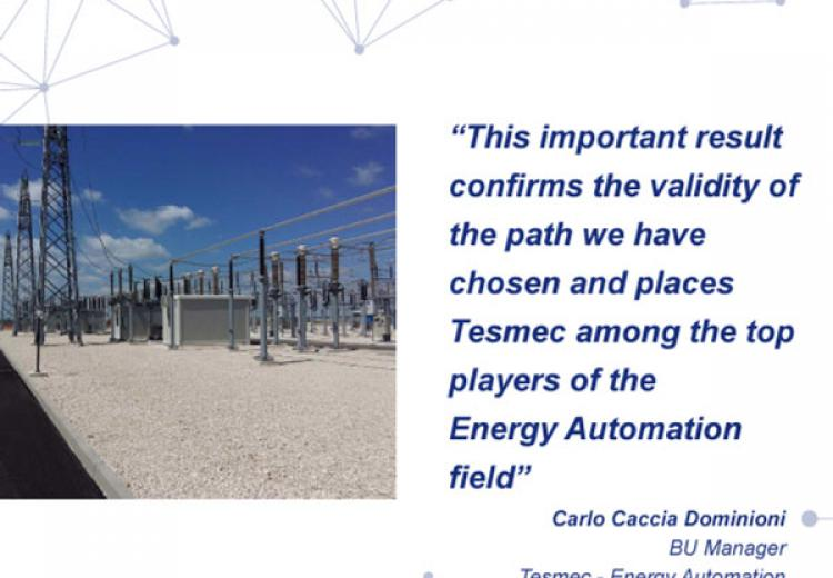 Tesmec Energy Automation contract with Terna Rete Italia