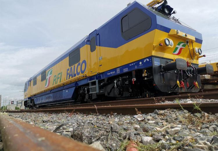 falco tesmec rail RFI diagnostic fleet