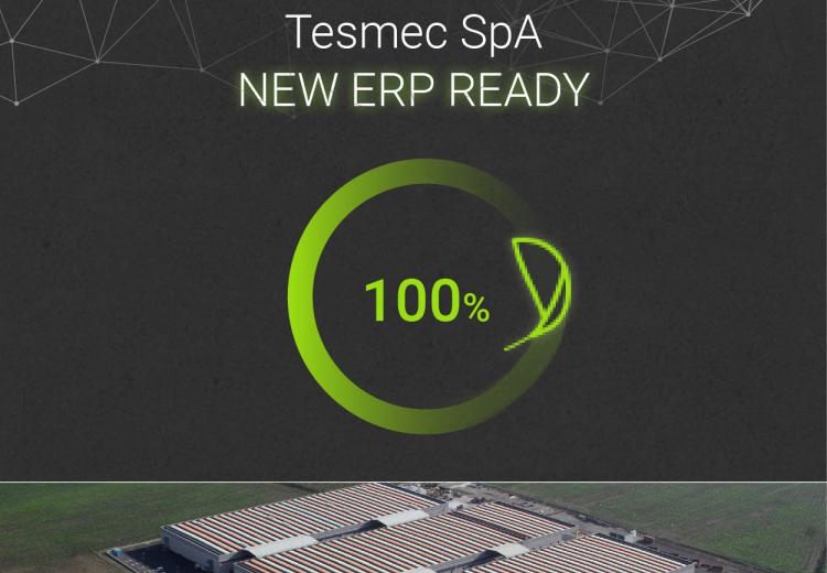 Tesmec ERP disponible